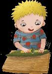 Co chcete vědět o učebnici Montessori vaření – Julie, Robík a okurka